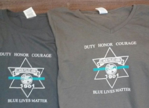 BLUE LIVES MATTER t-shirts